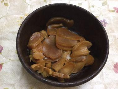 たむらやの寒仕込み生姜のみそ漬のパッケージです。