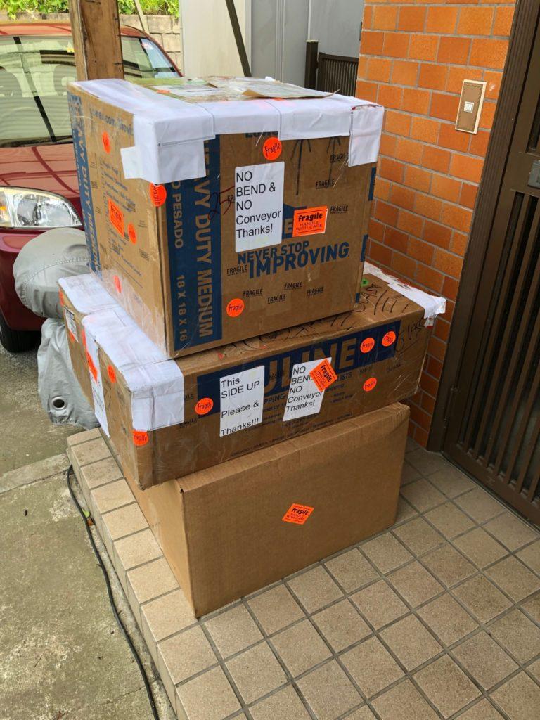 海外からの荷物