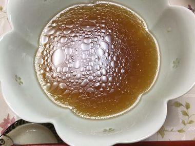 佐野ラーメンを完食したどんぶりです。酢^プは飲まずに残しました。