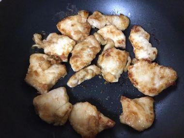 鶏むね肉の焼き肉が焼けました。