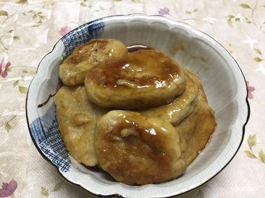 里芋餅です。