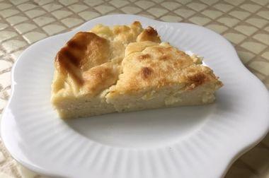 らっこが焼いた、バスク風チーズケーキです。
