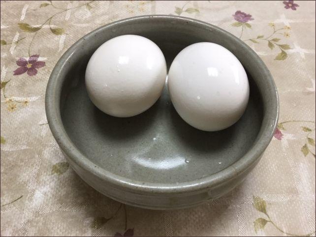 温泉卵です。