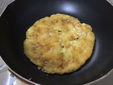 焼けてきたチーズです。