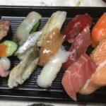スシローのお寿司です。3貫盛り祭セット