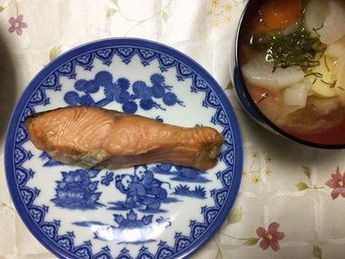 焼き鮭です。