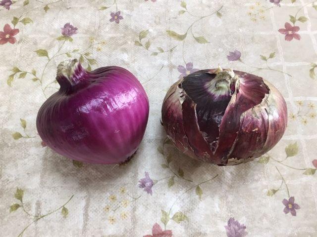 紫玉ねぎ2個です。