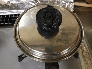 なめこが入った小鍋です。