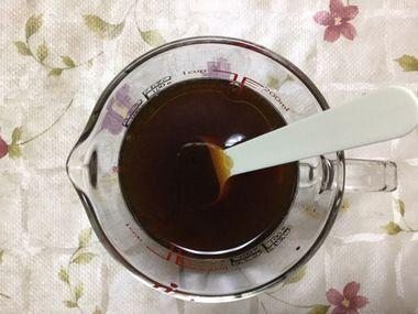 すき焼きの煮汁です。