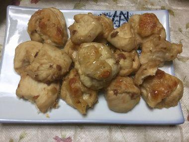 梅味の鶏肉のオーブン焼きです。