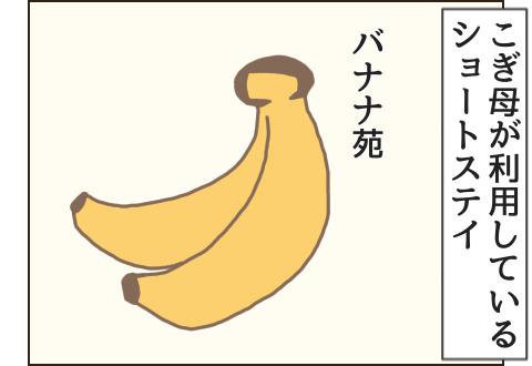 ショートステイ施設はバナナ苑。