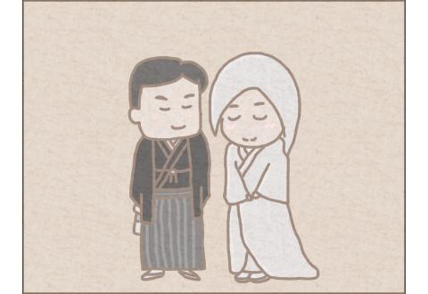 こぎ父とこぎ母の結婚のイメージ