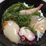 気仙沼は斉吉の海鮮丼です。甘エビ入り