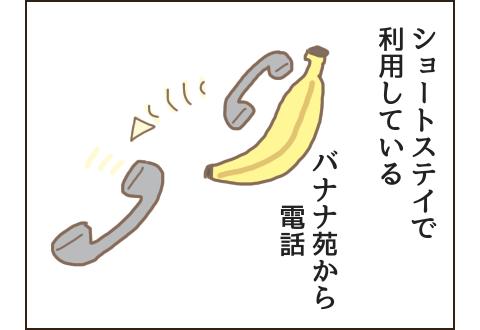 バナナ苑から電話