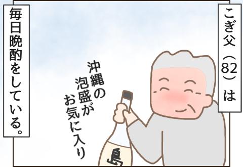 沖縄の泡盛島人がお気に入りのこぎ父