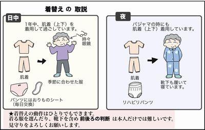 こぎ母の着替えの取扱説明書